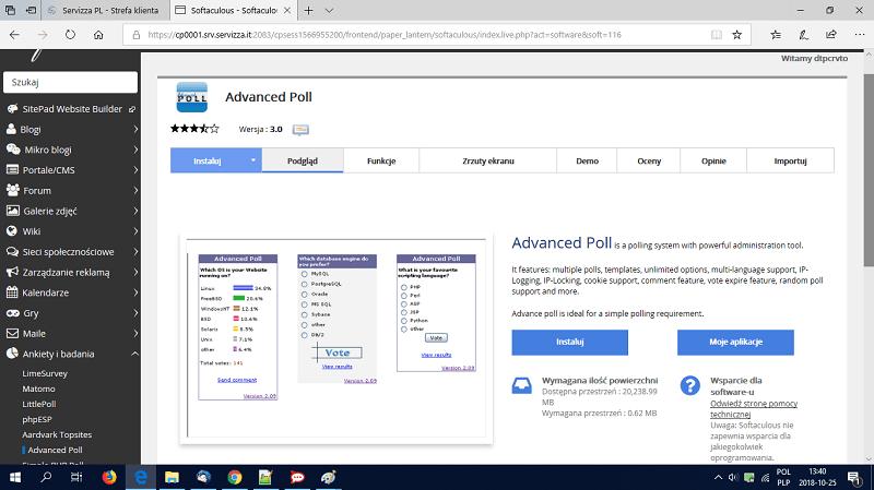 Advanced Poll