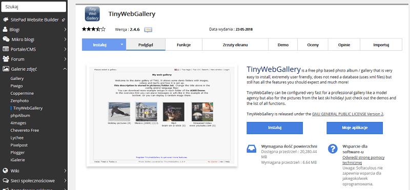 TinyWebGallery