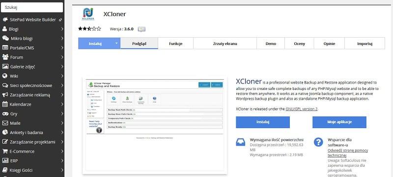 XCloner