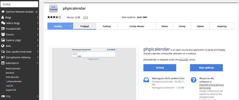 phpicalendar